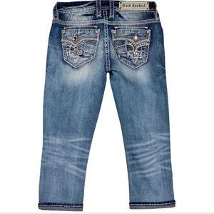 Rock Revival Yara Embellished Easy Cropped Jeans